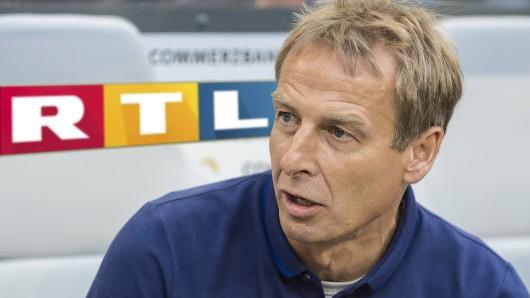 Jürgen Klinsmann bei RTL: Der Ex-Bundestrainer wird neuer TV-Experte beim Privatsender.