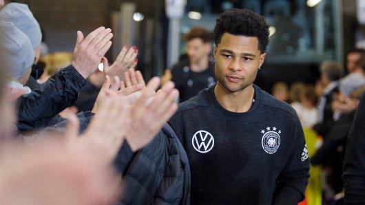 Serge Gnabry ist einer der Hoffnungsträger in der DFB-Elf.