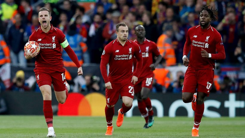 Liverpool Barcelona In Live Ticker 1 0 Anfield Is On