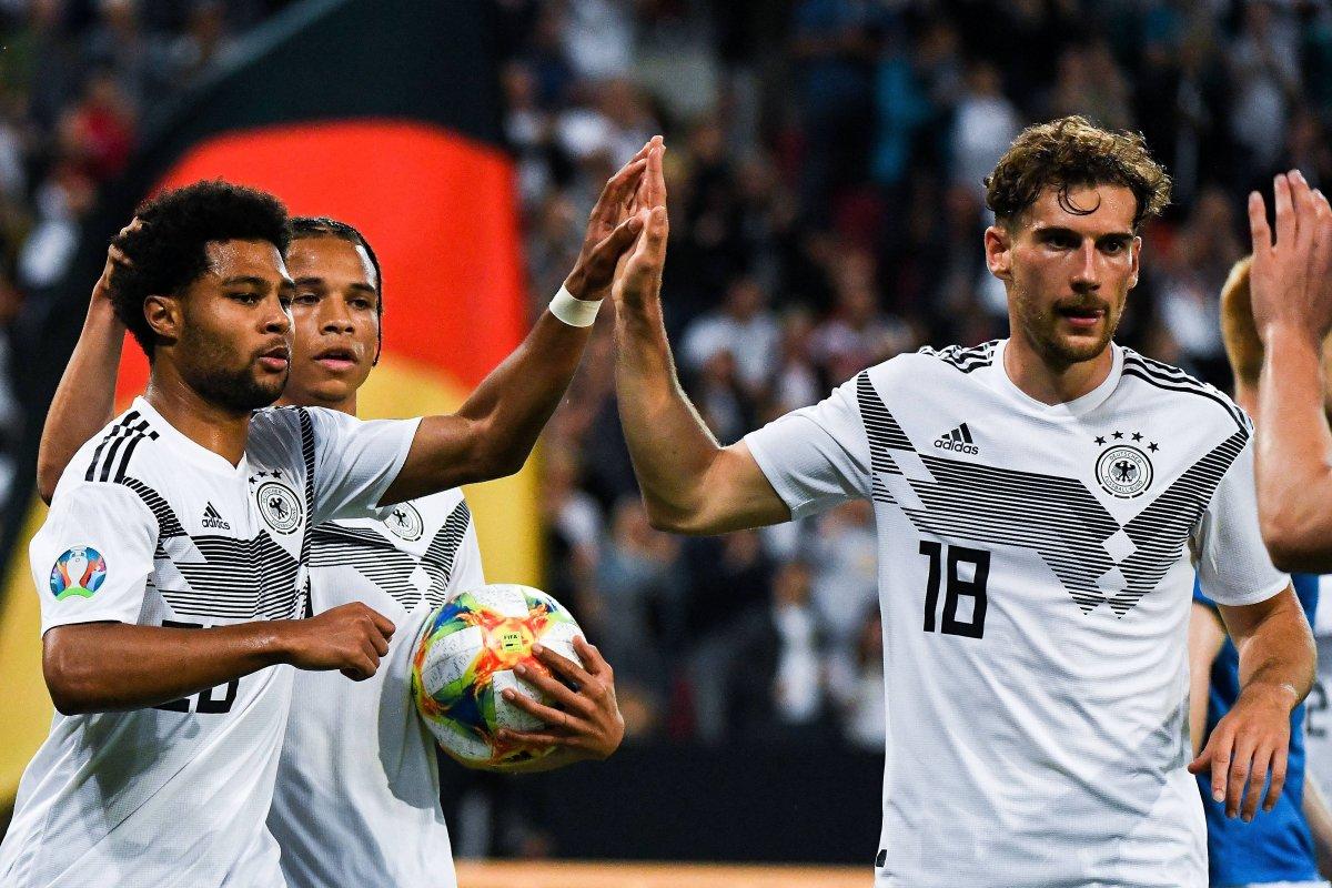 Em Qualifikation Deutschland Estland Im Live Ticker Dfb