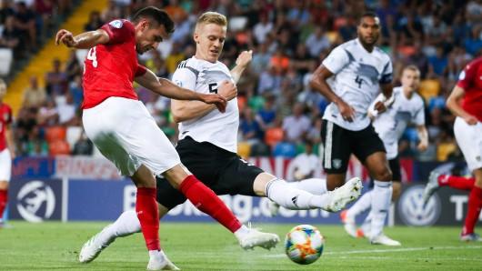 Deutschland - Österreich: Ein 1:1 reicht der DFB-Elf für das Halbfinale.