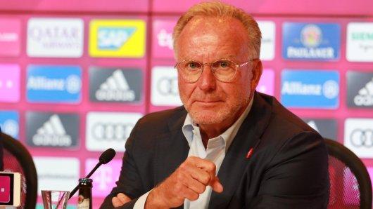 Karl-Heinz Rummenigge konterte auf der USA-Reise des FCB die Aussagen Guardiolas.