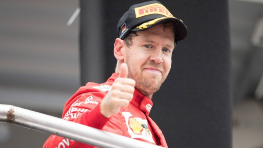 Sebastian Vettel will beim Formel-1-Rennen in Singapur seinen ersten Saisonsieg einfahren.