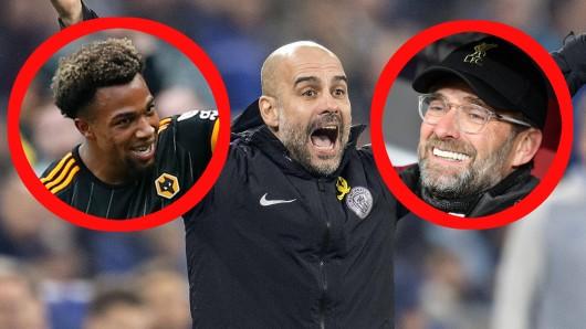In der Premier League liegt Manchester City bereits acht Punkte hinter dem FC Liverpool.