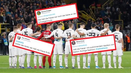 Vor dem Länderspiel Deutschland - Argentinien gab es einen Aufreger, der im Netz heiß diskutiert wird.
