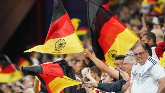 Nach dem Spiel zwischen Estland und Deutschland waren einige deutsche Fans außer sich.