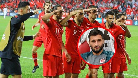 Sahin solidarisierte sich mit den salutierenden türkischen Nationalspielern.