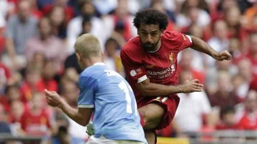 Liverpool - Manchester City im Live-Ticker: Jürgen Klopp hofft auf Tore von Mo Salah.