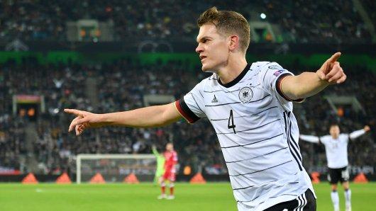 Matthias Ginter machte das zwischenzeitliche 1:0 für Deutschland.