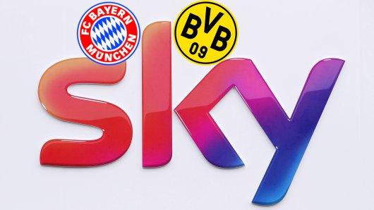 Sky hatte beim Spiel zwischen dem FC Bayern und Borussia Dortmund massive technische Probleme.