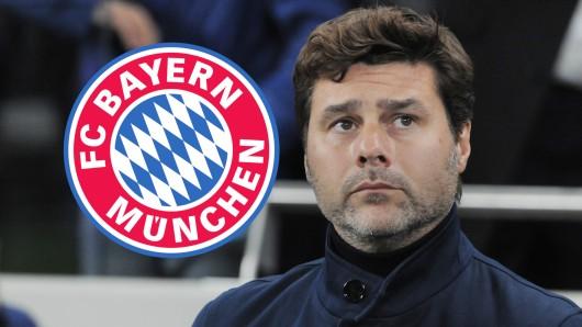 Mauricio Pochettino wurde bei Tottenham Hotspur vor die Tür gesetzt. Geht der Trainer nun zum FC Bayern München?