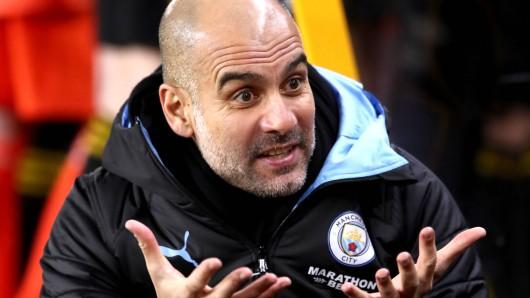 Schock für Pep Guardiola! Manchester City wurde von der UEFA aus der Champions League ausgeschlossen.
