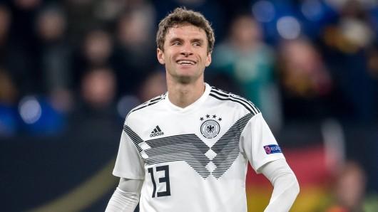 Steht Thomas Müller vor seinem Comeback im DFB-Trikot?
