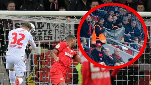 Bayer Leverkusen – Union Berlin wurde von einem dramatischen Zwischenfall überschattet.