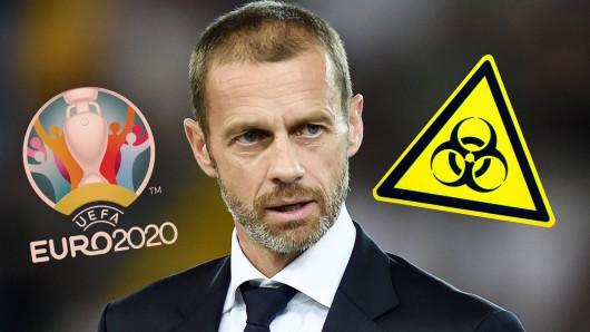 Das Coronavirus zwingt die Bundesliga und den Fußball in ganz Europa in die Knie. Und dann kommt auch noch UEFA-Boss Aleksander Ceferin mit einer kuriosen Forderung.