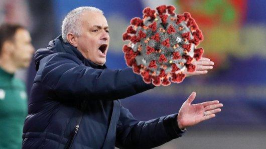 Im Zuge des Coronavirus hat Jose Mourinho gegen geltende Auflagen verstoßen.