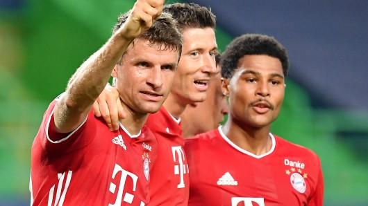 Bayern München überrollt auch Lyon und steht im Finale der Champions League.