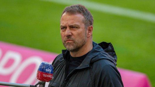 Sky: Hansi Flick beendet sämtliche Spekulationen um seine Zukunft in Bayern.