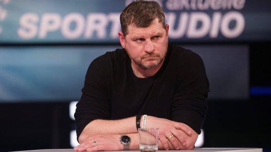 Steffen Baumgart war zu Gast im ZDF-Sportstudio.