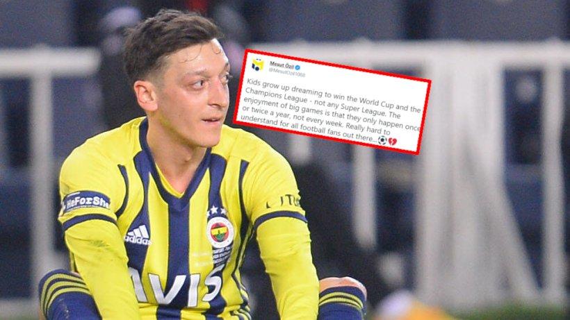 """Mesut Özil mit emotionalen Worten – """"schwer zu verstehen"""""""