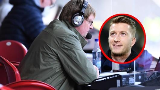 Sky-Kommentartor Tom Bayer wurde von Reus überrascht.