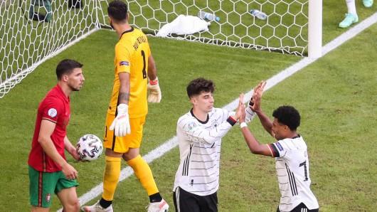 Kai Havertz mit dem 3:1-Treffer für Deutschland.
