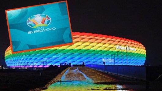 EM 2021: Zum letzten Gruppenspiel der deutschen Nationalmannschaft sollte die Arena in Regenbogenfarben erstrahlen. Doch daraus wird nichts!