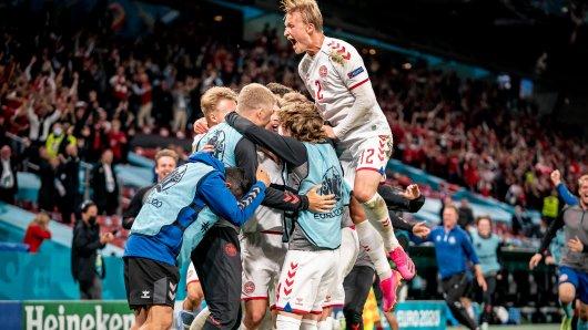 Dänemark gelingt die erste Sensation bei der EM 2021.
