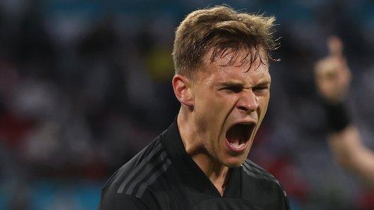 Das Spiel zwischen Deutschland und Ungarn wurde für Joshua Kimmich und seine DFB-Kollegen zur großen Zitterpartie.