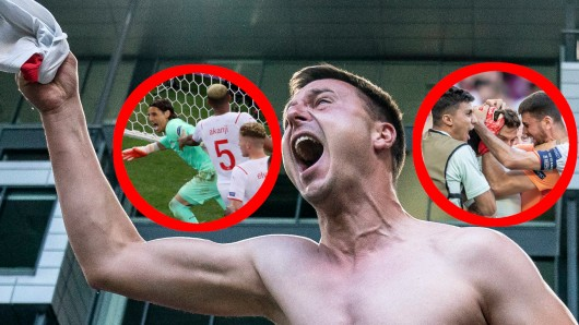Bei der EM 2021 hat ein Fan die irren Achtelfinal-Spiele goldrichtig getippt – und kassiert einen Mega-Gewinn. (Symbolfoto)
