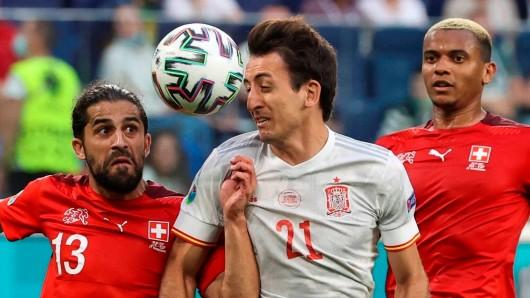 EM 2021: Schweiz unterliegt Spanien dramatisch.
