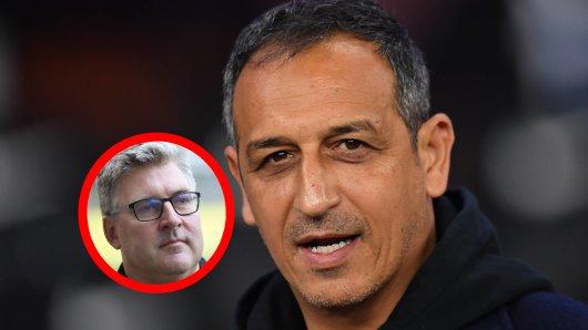 Im Doppelpass (Sport 1) legt sich Fürth-Geschäftsführer Rachid Azzouzi mit Eintracht Frankfurt an.