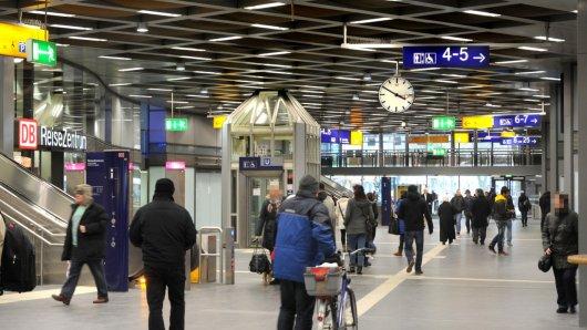 Der Hauptbahnhof Gelsenkirchen ist zur Zeit abgesperrt.