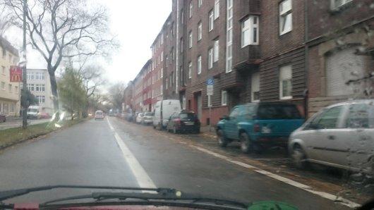 Dieser neue Radweg an der Wildenbruchstraße sorgt aktuell für Diskussionen.