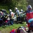 Bei einem schweren Verkehrsunfall bei Gelsenkirchen sind fünf Menschen verletzt worden.