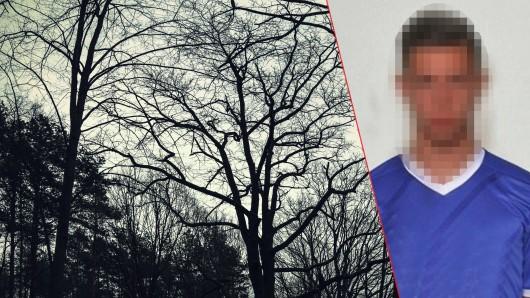 Dean Martin L. soll mit einer Gruppe junger Männer mehrere minderjährige Mädchen vergewaltigt haben - unter anderem auch in einem Waldstück.