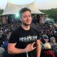 Max (26) war zum ersten Mal beim Rock Hard in Gelsenkirchen.