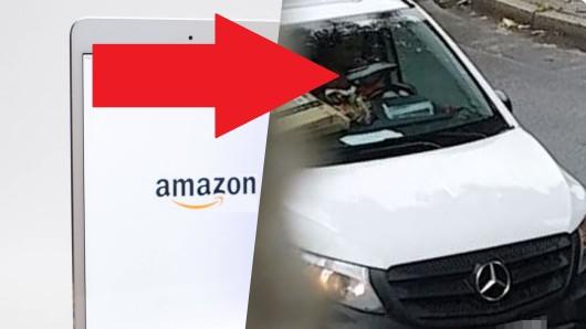 Reißt dieser Amazon-Kurier Pakete auf und schaut sich deren Inhalt an?