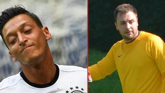 Mesut Özil und Fabian Maraun kickten in der F-Jugend zusammen bei Westfalia Gelsenkirchen.