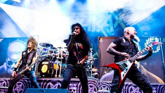 Anthrax zählten beim diesjährigen Rock-Hard-Festival zu den Top Acts.