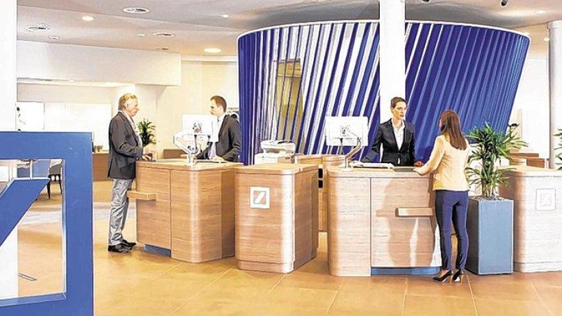 Umbau - Deutsche Bank baut Filiale in Velbert aufwändig um - derwesten.de