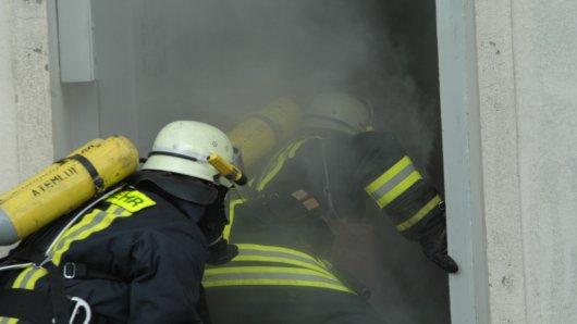 Symbolbilder Feuerwehr Brandeinsatz