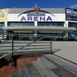 Ansicht der König Pilsener Arena Oberhausen am Centro in der Neuen Mitte, die 15. jähriges Jubiläum feiert.