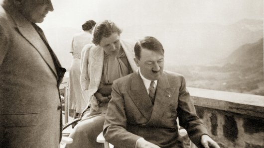 Hoffmann, Braun And Hitler Getty Images