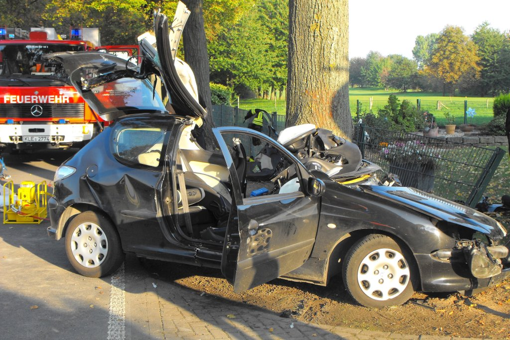 Schwerer Unfall in Niedermörmter - Nachrichten aus Kleve und der ...
