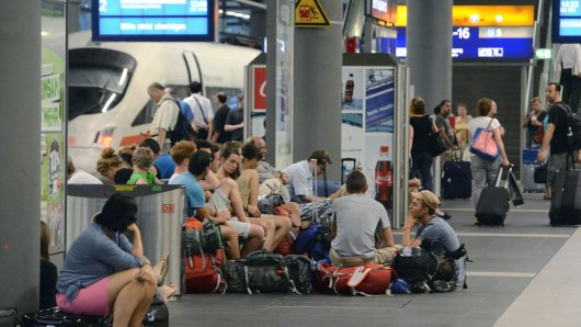 Bahn-Verspätungen in Berlin