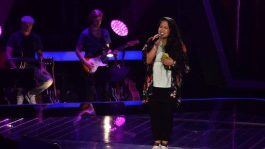 Cheryl Vorstermann van Oyen rührte mit ihrem Auftritt The Voice of Germany-Coach Stefanie Kloß zu Tränen.