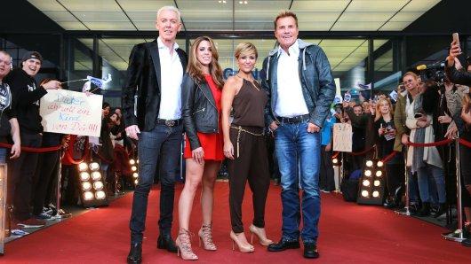 Die neue DSDS-Jury: H.P. Baxxter, Vanessa Mai, Michelle und Dieter Bohlen.