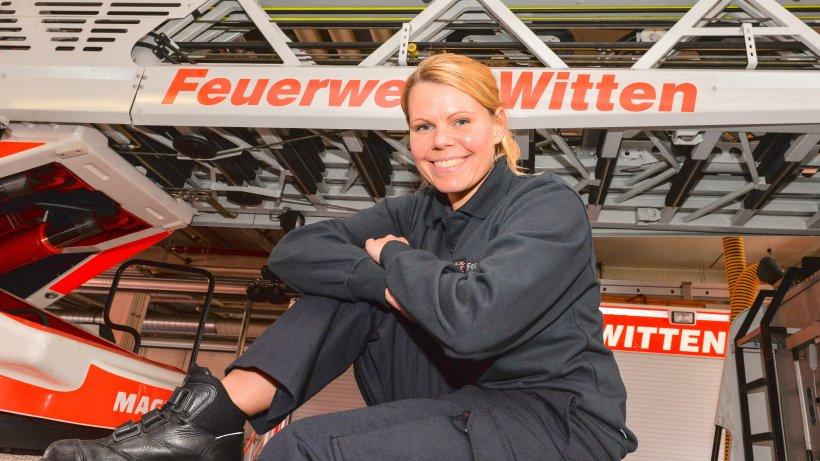 Feuerwehr - Neue Brandmeisterin brennt für die Feuerwehr