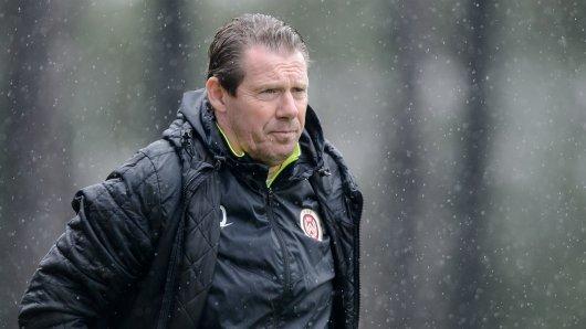 RWE-Trainer Sven Demandt.